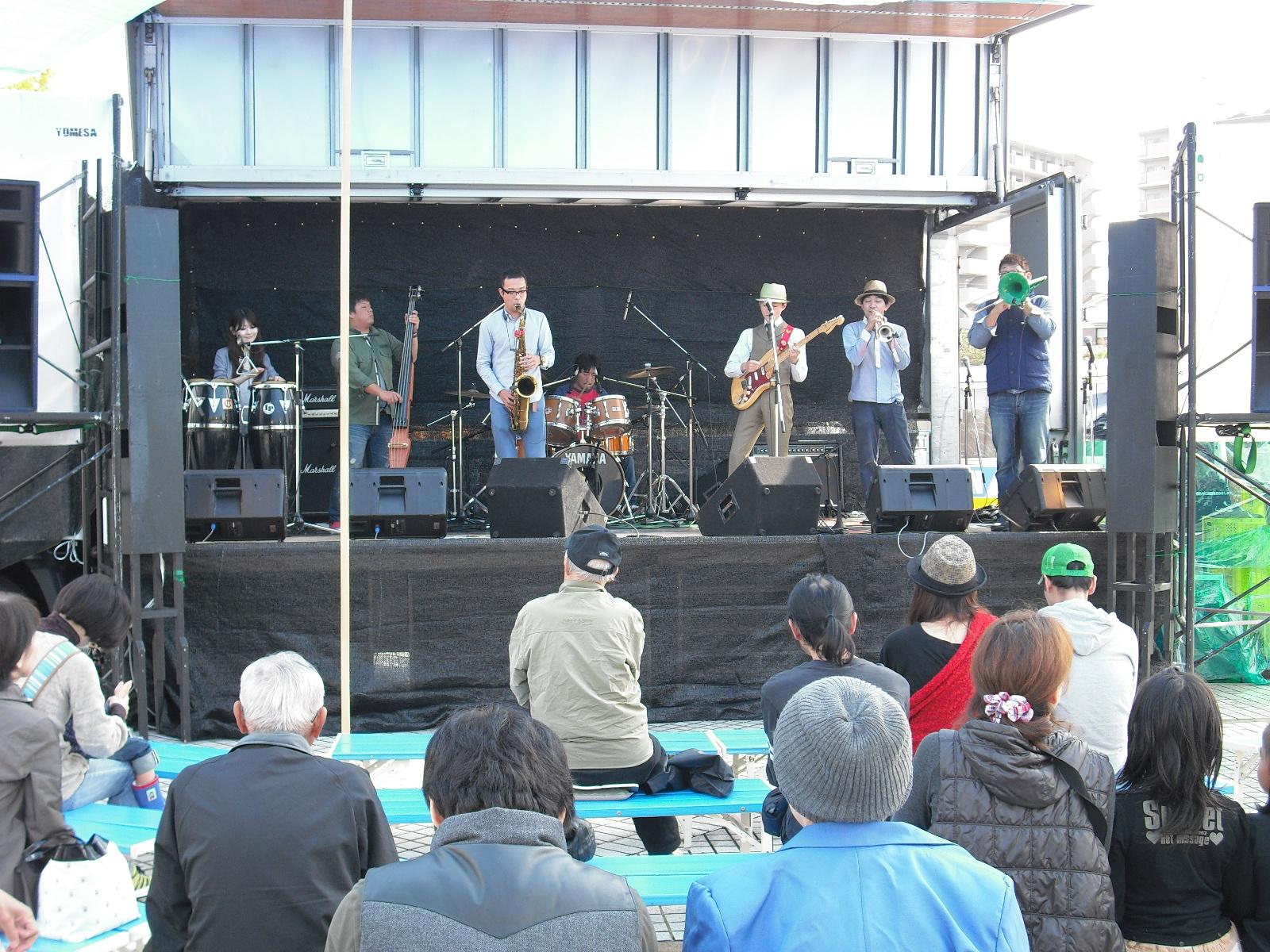2012年寺ヶ池公園音楽祭の様子